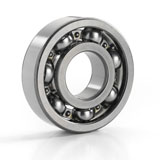 Metric Single Row Deep Groove Ball Bearing