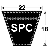 SPC Section Wedge Belt
