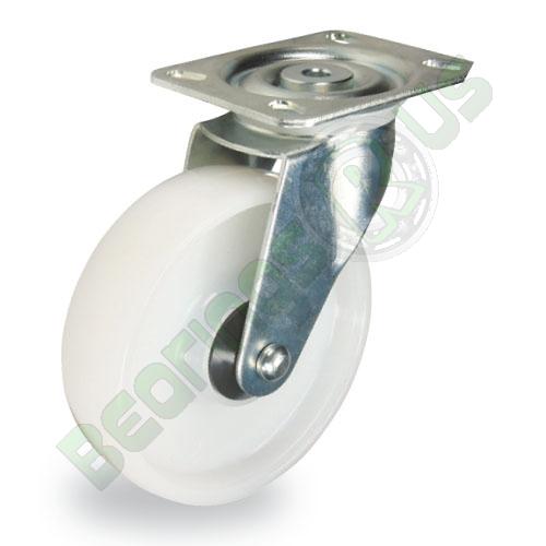 80mm dia Swivel Nylon Castor Wheel