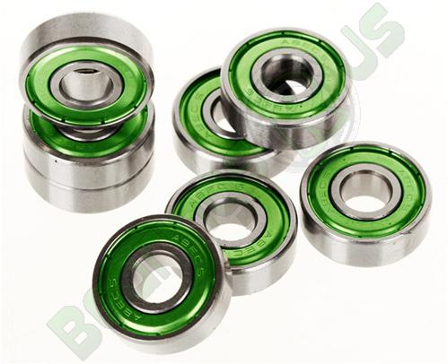 608 Z ABEC5 Skateboard Bearing Set (8)