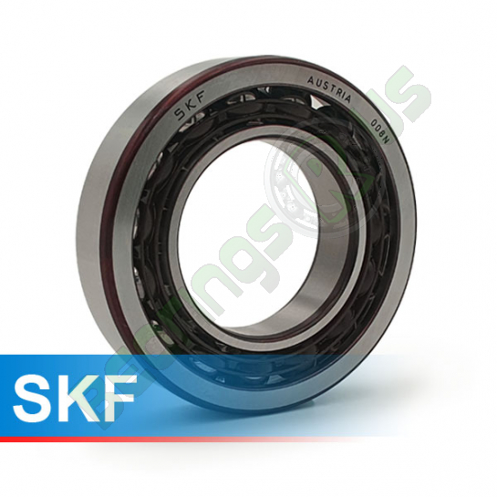 7202BECBP SKF Single Row Angular Contact Bearing 15x35x11mm