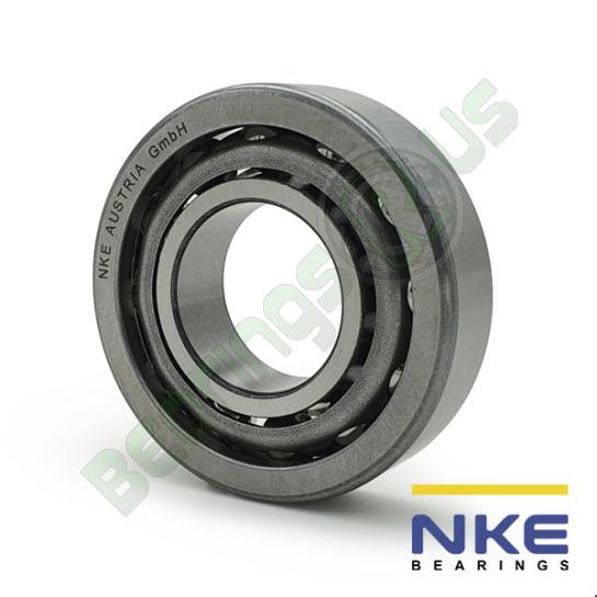 "LJT1 NKE Single Row Angular Contact Bearing 1 x 2 1/4 x 5/8"""