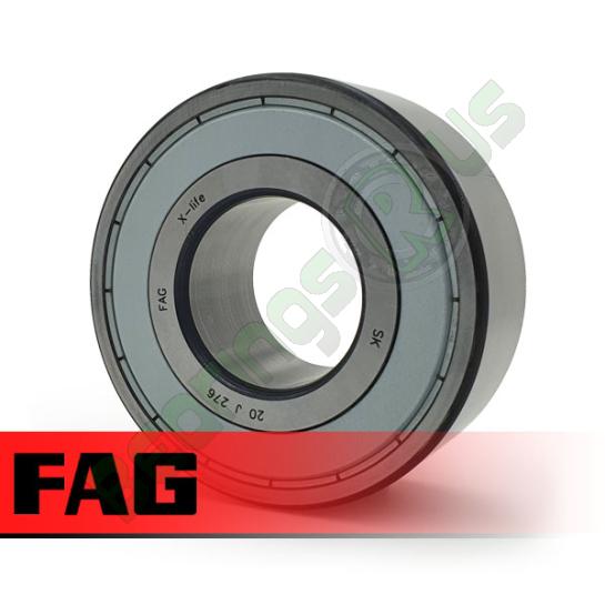 3202-BD-XL-2Z-TVH-C3 FAG Double Row Angular Contact Bearing 15x35x15.9mm