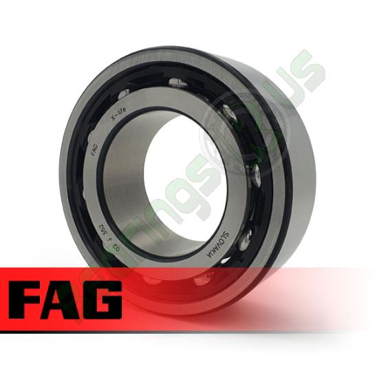 3302-BD-XL-TVH FAG Double Row Angular Contact Bearing 15x42x19mm