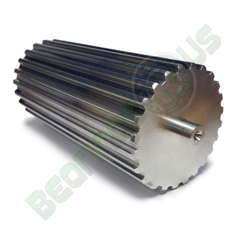 BT2.5-38 Aluminium Bar Stock T2.5 Pitch with 38 Teeth