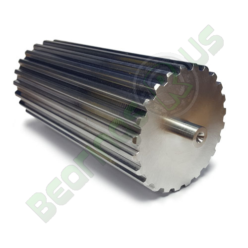 BT2.5-12 Aluminium Bar Stock T2.5 Pitch with 12 Teeth