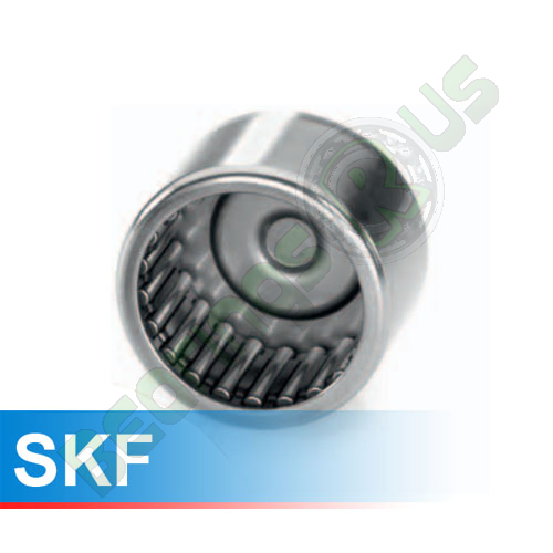 BK 3016 SKF Drawn Cup Needle Roller Bearing With A Closed End 30x37x16 (mm)