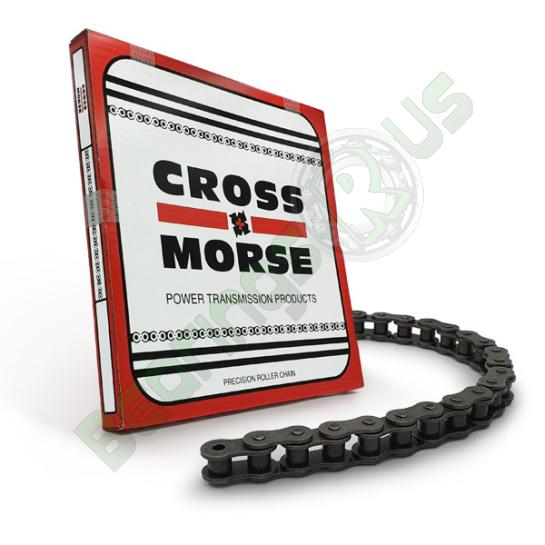 1 Pitch 16B-1 Simplex Cross & Morse Roller Chain - 10 Foot Box