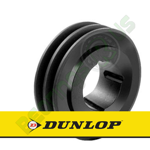 SPA106X2 Vee Belt Pulley - SPA Section 2 Groove - Taper Bush 1610
