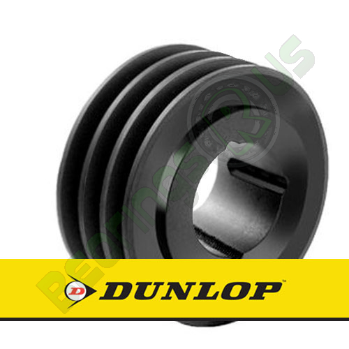 SPA300X3 Vee Belt Pulley - SPA Section 3 Groove - Taper Bush 3020