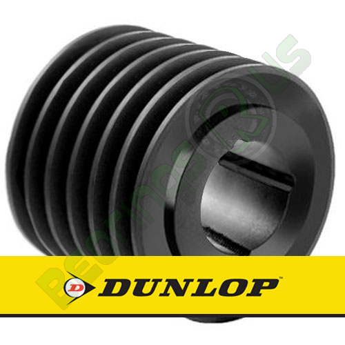 SPA280X6 Vee Belt Pulley - SPA Section 6 Groove - Taper Bush 3535