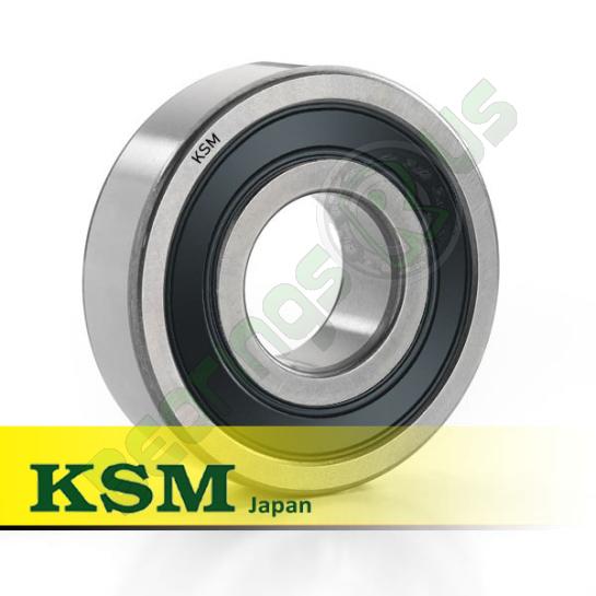 "MJ1/2 2RS (RMS4-2RS) KSM Sealed Deep Groove Ball Bearing 1/2x1.5/8x5/8"""