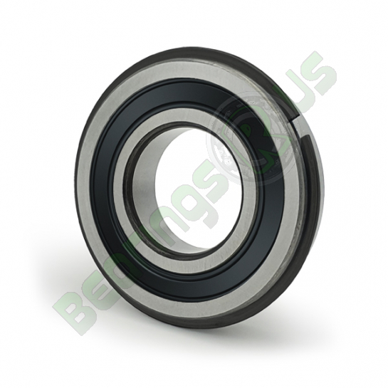 6312-2RS-NR Sealed Snap Ring Deep Groove Ball Bearing 60x130x31mm
