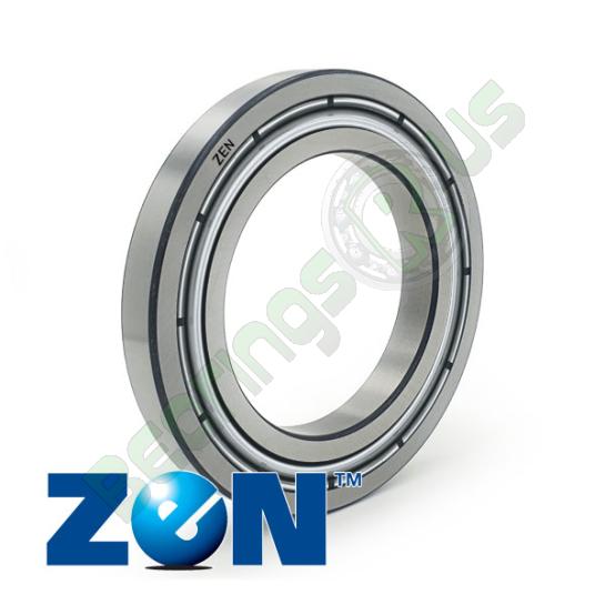 61804 ZZ ZEN Shielded Deep Groove Ball Bearing 20x32x7mm