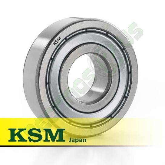 "MJ1/2 ZZ (RMS4-ZZ) KSM Shielded Deep Groove Ball Bearing 1/2x1.5/8x5/8"""
