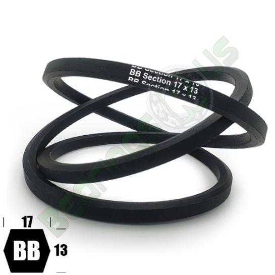 BB50 Premium Double Side (Hexagonal) Agricultural V Belt