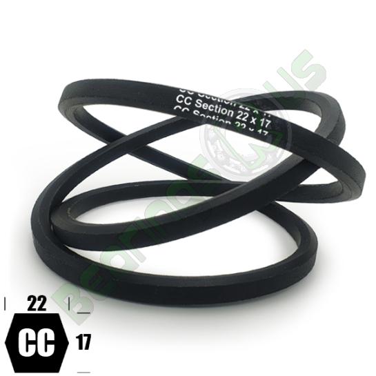 CC193 Premium Double Side (Hexagonal) Agricultural V Belt