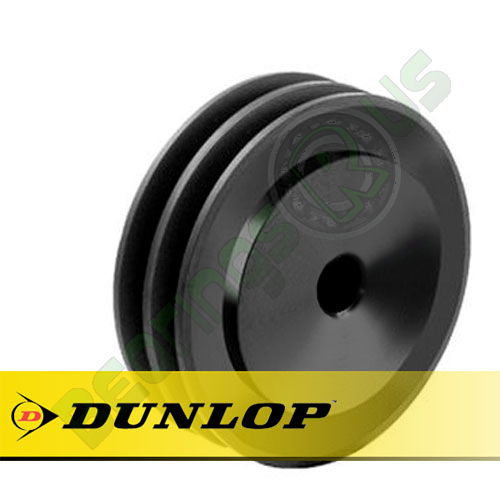 SPA106X2 Vee Belt Pulley - SPA Section 2 Groove - Pilot Bore