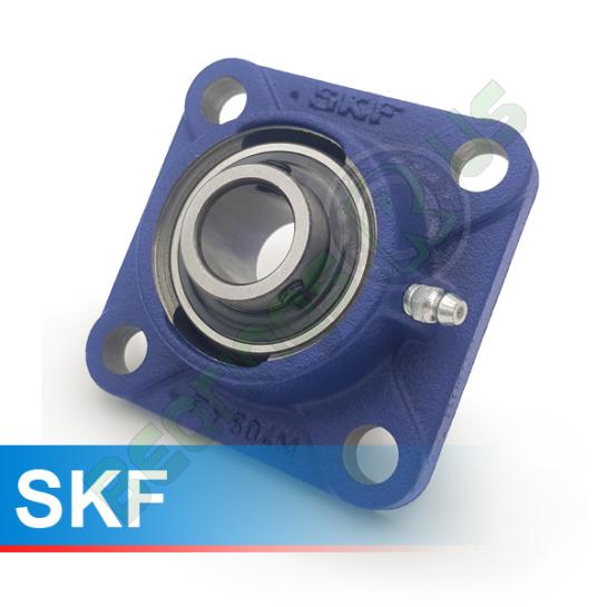 FY15TF SKF Self Lube 4 Bolt Flange Unit 15mm Shaft