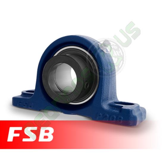 HCP211 FSB Self Lube 2 Bolt Pillow Block 55mm Shaft (NP55DEC)