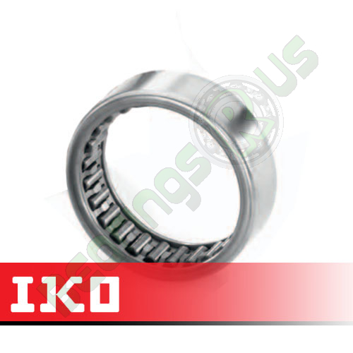 TLA1522Z IKO Drawn Cup Needle Roller Bearing 15x21x22mm