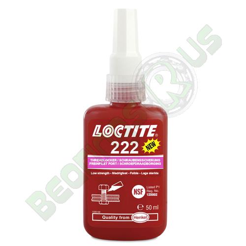 Loctite 222 - Low Strength Screwlock Controlled Torque Threadlocker 50ml