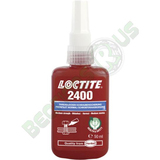 Loctite 2400 - Medium Strength Health & Safety Friendly Threadlocker 50ml