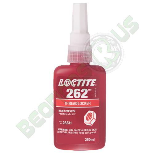 Loctite 262 - High/Medium Strength Controlled Torque Threadlocker 250ml