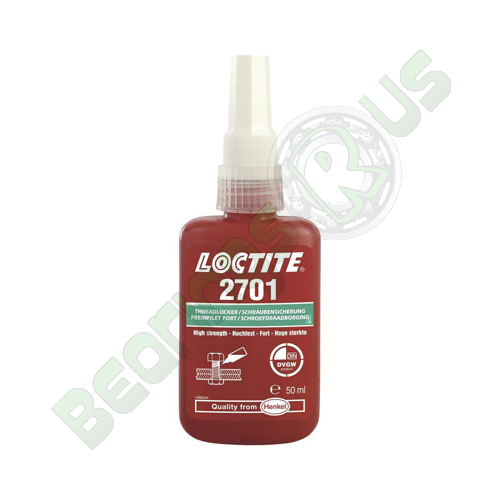Loctite 2701 - High Strength Oil Resistant 50ml