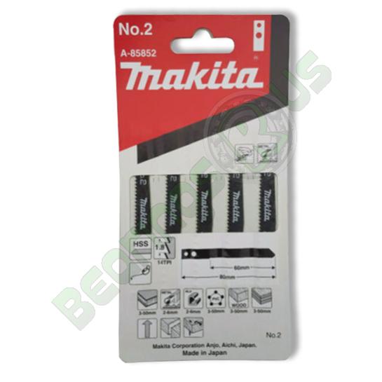 Makita A-85852 Jig Saw Blade No.2 (PK5)