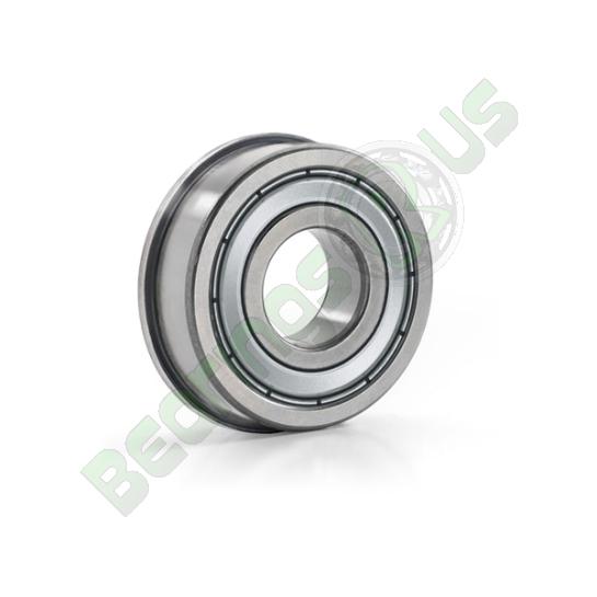 F682ZZ Flanged Shielded Deep Groove Ball Bearing 2x5x2.3mm