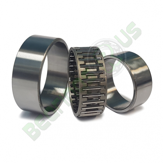 NAO12x24x13 SKF Needle Roller Bearing With Machined Rings With Flanges, With Inner Ring 12x24x13mm