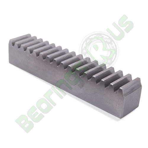 SR10/8/.5 Metric Steel Rack 1 Mod x 500mm long 20° PA