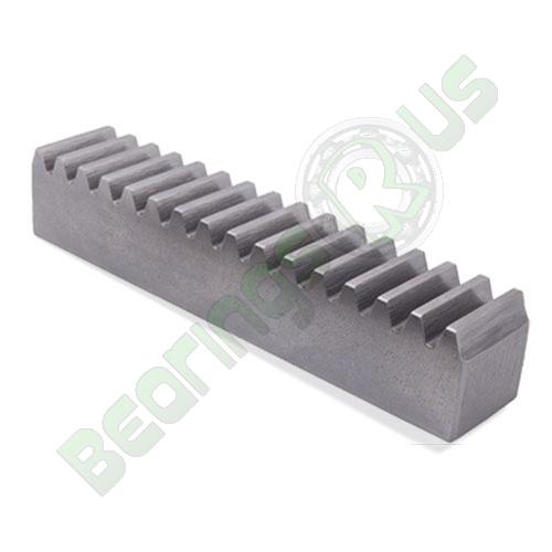 SR1.25/8/.4 Metric Steel Rack 1.25 Mod x 400mm long 20° PA