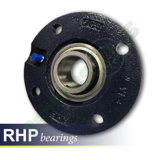 MFC95 RHP Self-Lube 4 Bolt Flange Cartridge Bearing Unit 95mm Shaft