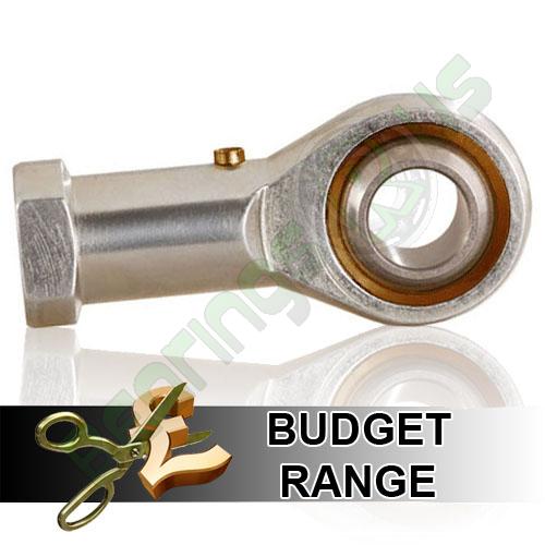 PHS10L Budget Left Hand Thread Female Steel Rod End 10mm Bore M10x1.5 Thread