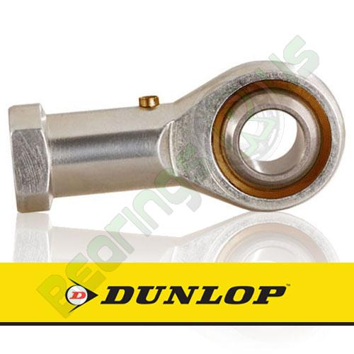 FB-M8 DUNLOP Right Hand Thread Female Steel Rod End 8mm Bore M8x1.25 Thread