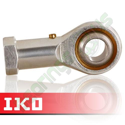 PHS6L IKO Left Hand Thread Female Steel Rod End 6mm Bore M6x1 Thread