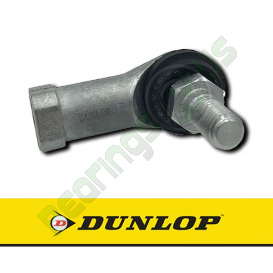 BL12D DUNLOP Right Hand Rod End with 12mm Female Threaded Body & 12mm Male Stud