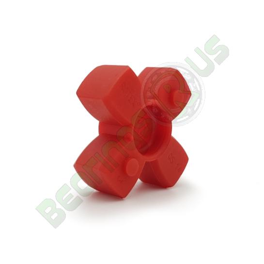 KTR Rotex14 RED Polyurethane Spider Element - 98sh-A