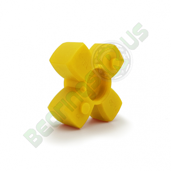 KTR Rotex9 YELLOW Polyurethane Spider Element - 92sh-A