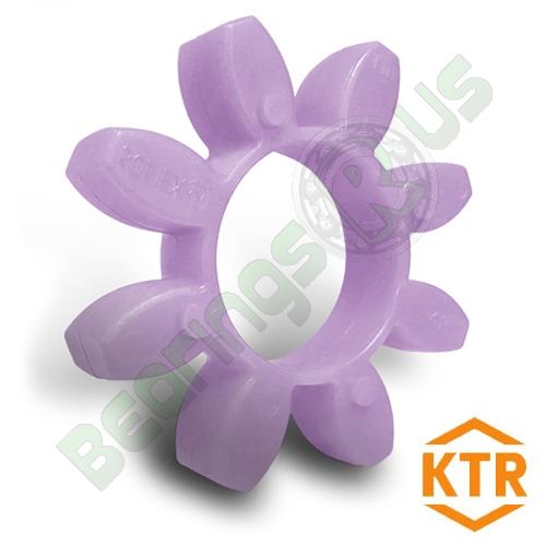 KTR Rotex38 PURPLE Polyurethane Spider Element - 98sh-A
