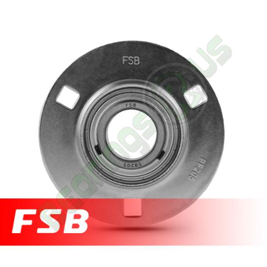 "SBPF205-14 Pressed Steel Housing Flange Unit 7/8"" shaft"