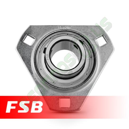 SBPFT205-14 Pressed Steel Housing Flange Unit 7/8 shaft