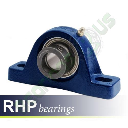 SL5/8EC RHP Self-Lube 2 Bolt Metric Pillow Block Bearing