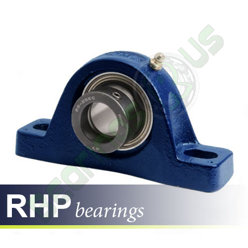 NP5/8EC RHP Self-Lube 2 Bolt Metric Pillow Block Bearing