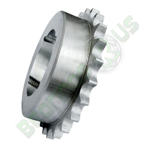 """41-24 (08B1-24) 1/2"""" Pitch Steel Taper Lock Simplex Sprocket"""