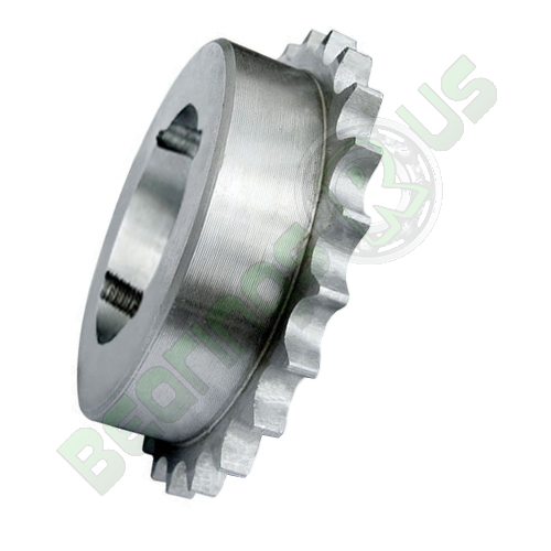 """61-21 (12B1-21) 3/4"""" Pitch Steel Taper Lock Simplex Sprocket"""