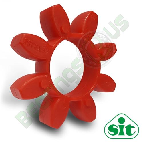 SIT Trasco28 RED Polyurethane Spider Element - 98sh-A