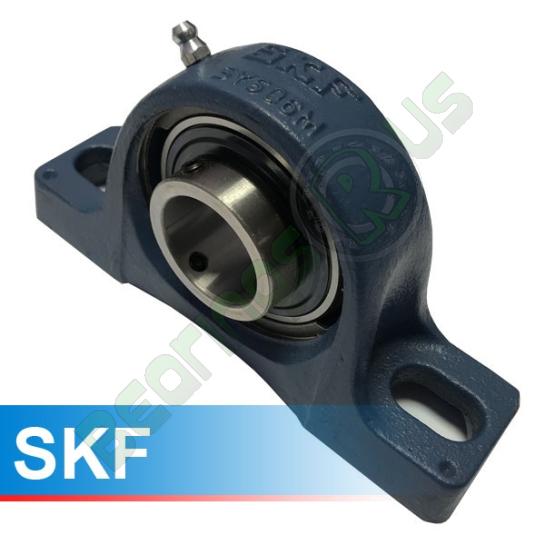 SY15TF SKF Self Lube 2 Bolt Pillow Block 15mm Shaft